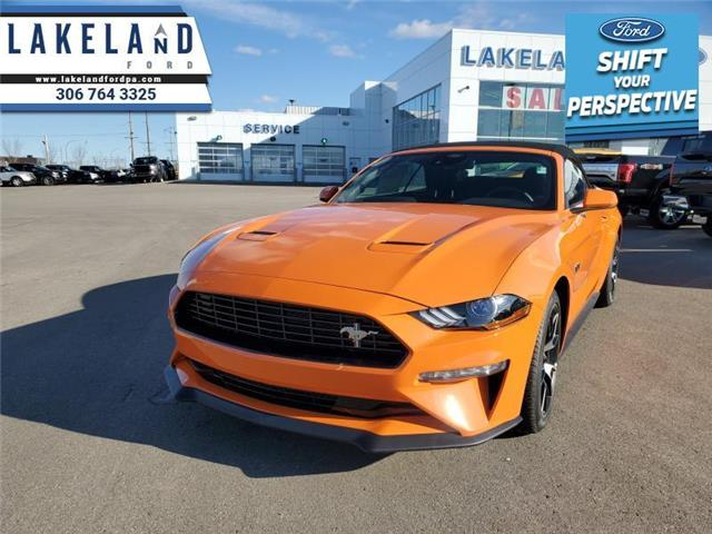 2021 Ford Mustang EcoBoost (Stk: 21-255) in Prince Albert - Image 1 of 12