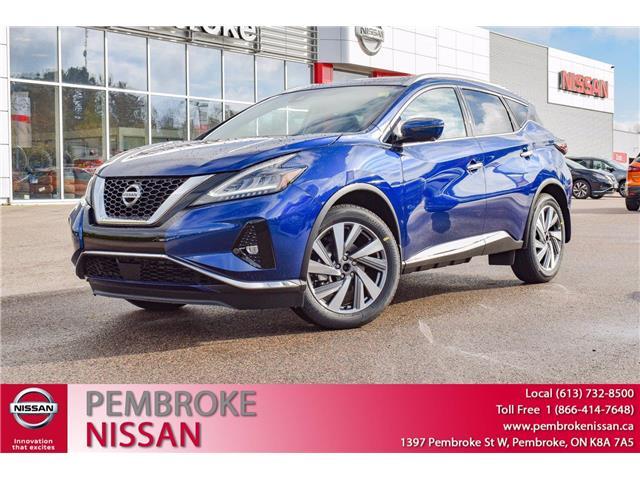 2021 Nissan Murano SL (Stk: 21186) in Pembroke - Image 1 of 30
