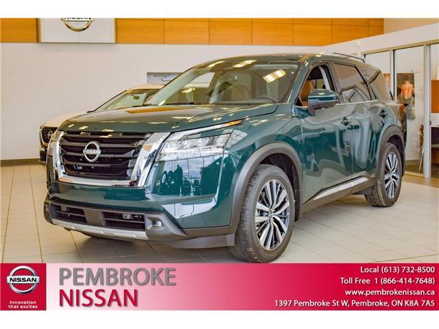 2022 Nissan Pathfinder Platinum (Stk: 22009) in Pembroke - Image 1 of 30