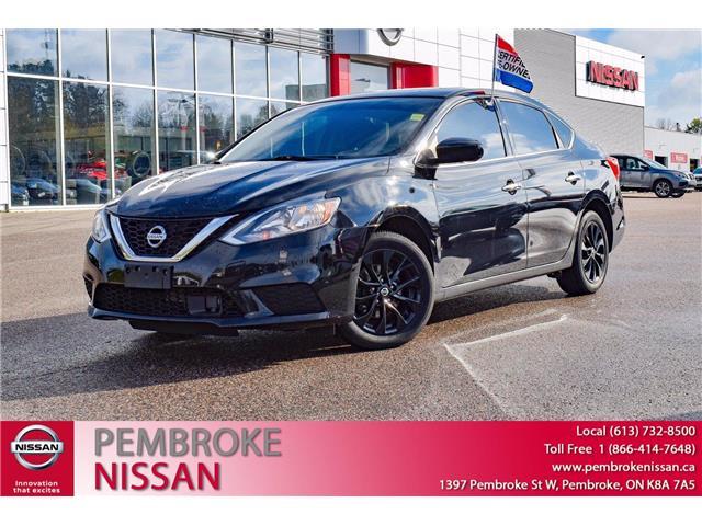 2018 Nissan Sentra 1.8 S (Stk: 21150A) in Pembroke - Image 1 of 30
