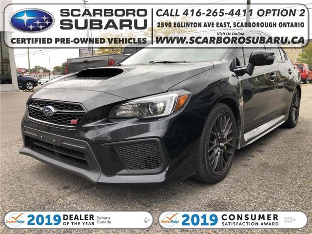 2019 Subaru WRX STI Base (Stk: K9801337) in Scarborough - Image 1 of 1