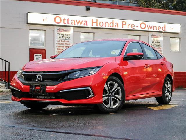 2019 Honda Civic LX (Stk: H93270) in Ottawa - Image 1 of 26