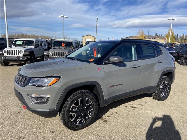 2021 Jeep Compass Trailhawk (Stk: MT166) in Rocky Mountain House - Image 1 of 1
