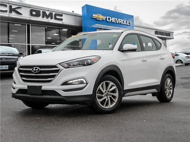 2018 Hyundai Tucson Premium 2.0L (Stk: 21286B) in Ottawa - Image 1 of 27