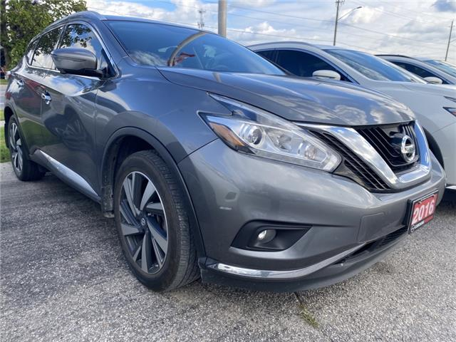 2016 Nissan Murano Platinum (Stk: CMC102499A) in Cobourg - Image 1 of 1