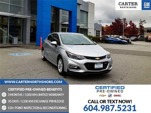 2018 Chevrolet Cruze LT Manual (Stk: 976260) in North Vancouver - Image 1 of 28