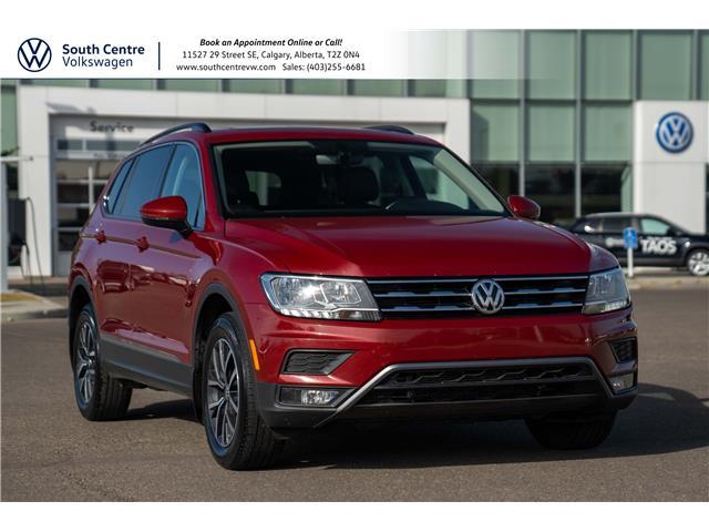 2018 Volkswagen Tiguan Comfortline (Stk: 10458A) in Calgary - Image 1 of 43