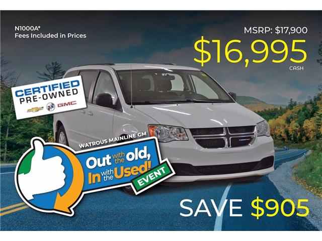 2015 Dodge Grand Caravan SE/SXT 2C4RDGBG2FR666404 N1000A in Watrous