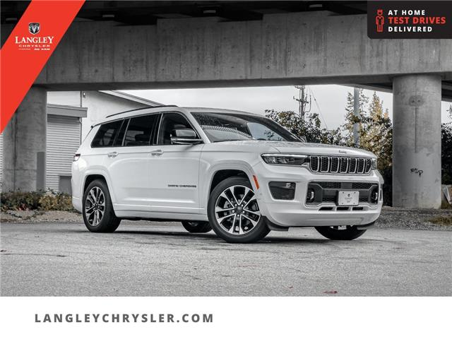 2021 Jeep Grand Cherokee L Overland (Stk: M148096) in Surrey - Image 1 of 28