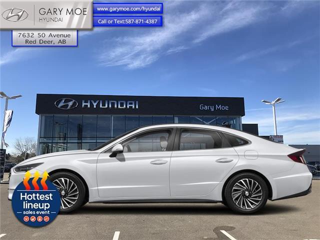 2021 Hyundai Sonata Hybrid Ultimate (Stk: 1SN4224) in Red Deer - Image 1 of 1