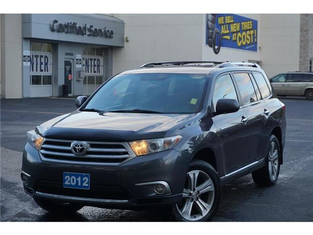 2012 Toyota Highlander Limited (Stk: 21-155A) in Salmon Arm - Image 1 of 26