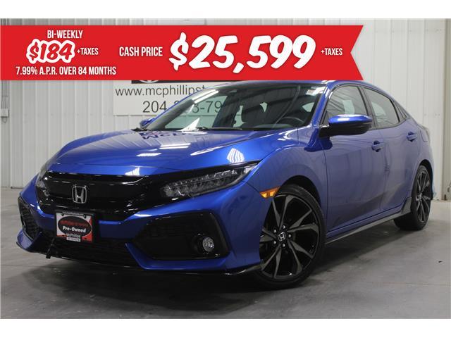 2018 Honda Civic Sport Touring (Stk: X282826A) in Winnipeg - Image 1 of 29