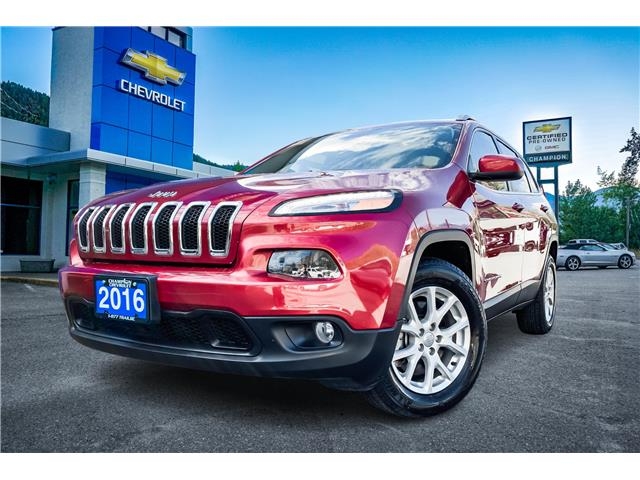 2016 Jeep Cherokee North (Stk: P21-219) in Trail - Image 1 of 24