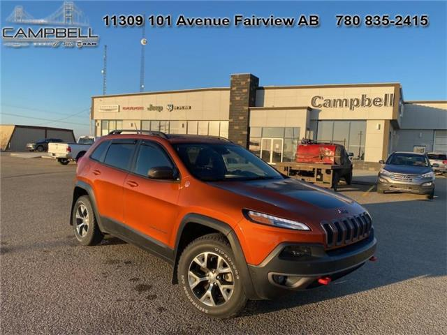 2015 Jeep Cherokee Trailhawk (Stk: 10803A) in Fairview - Image 1 of 12