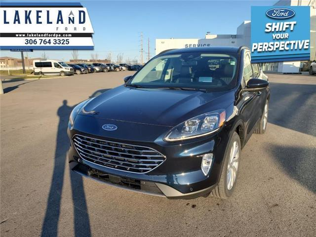 2021 Ford Escape Titanium Hybrid (Stk: 21-523) in Prince Albert - Image 1 of 12