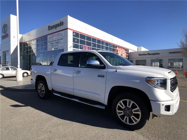2018 Toyota Tundra Platinum 5.7L V8 (Stk: 211085A) in Calgary - Image 1 of 26