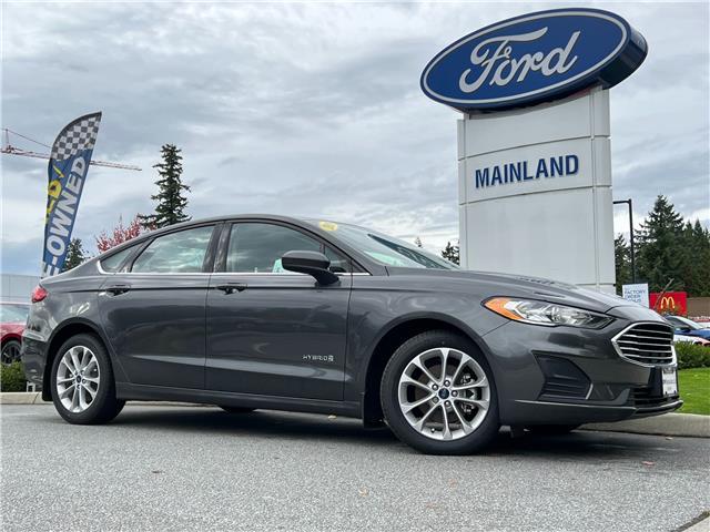 2019 Ford Fusion Hybrid SE 3FA6P0LU9KR266419 9FU6419 in Vancouver