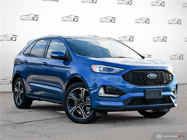 2021 Ford Edge ST Blue