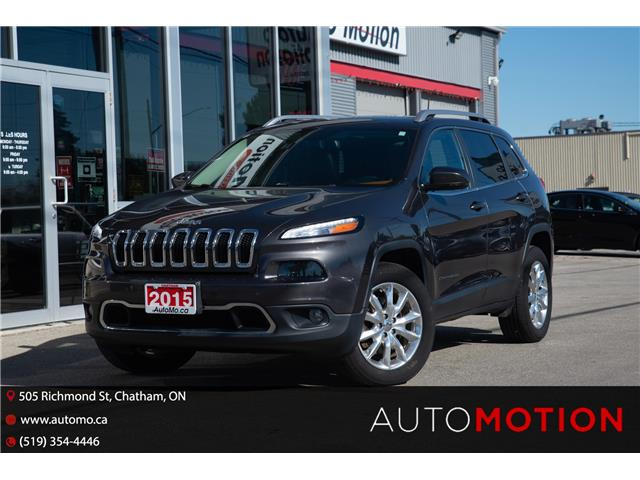 2015 Jeep Cherokee Limited (Stk: 211780) in Chatham - Image 1 of 24