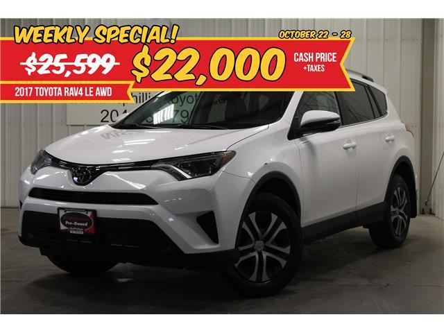 2017 Toyota RAV4 LE (Stk: C201791A) in Winnipeg - Image 1 of 26