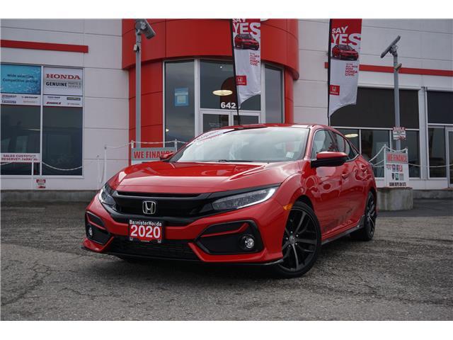 2020 Honda Civic Sport Touring (Stk: L21-232) in Vernon - Image 1 of 18