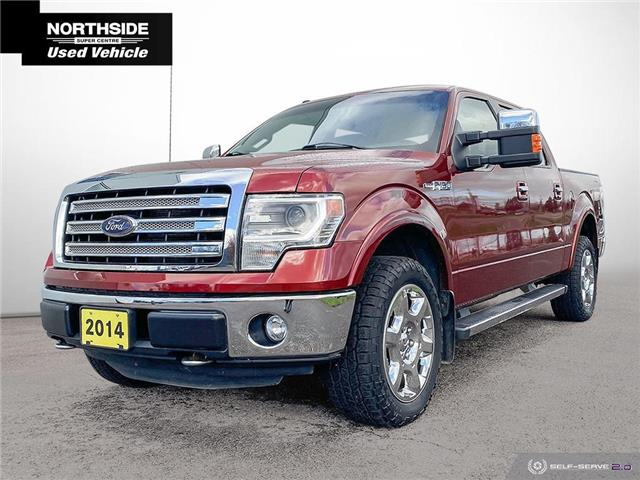 2014 Ford F-150 Lariat (Stk: T21311A) in Sault Ste. Marie - Image 1 of 27