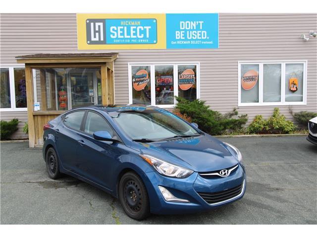 2015 Hyundai Elantra GLS (Stk: HSW9701) in St. John's - Image 1 of 21