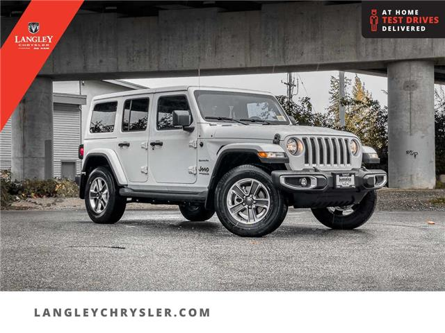 2021 Jeep Wrangler Unlimited Sahara (Stk: M833853) in Surrey - Image 1 of 22