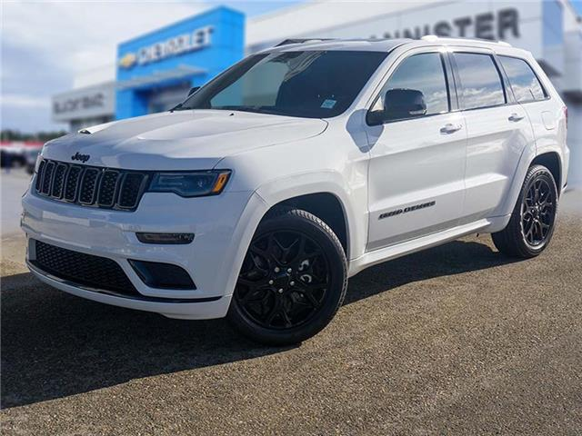 2021 Jeep Grand Cherokee Limited (Stk: P21-220) in Edson - Image 1 of 15