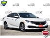 2019 Honda Civic EX White