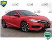 2017 Honda Civic LX Red