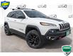 2018 Jeep Cherokee Trailhawk (Stk: 34731AU) in Barrie - Image 1 of 24