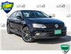 2017 Volkswagen Jetta 1.8 TSI Highline (Stk: 34397BUX) in Barrie - Image 1 of 24