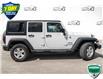 2018 Jeep Wrangler JK Unlimited Sport (Stk: 35101AUX) in Barrie - Image 4 of 22