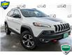 2015 Jeep Cherokee Trailhawk (Stk: 34930AUX) in Barrie - Image 1 of 29