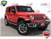 2021 Jeep Wrangler Unlimited Sahara (Stk: 27906UR) in Barrie - Image 1 of 22