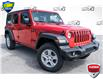 2021 Jeep Wrangler Unlimited Sport (Stk: 35188D) in Barrie - Image 1 of 25