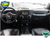 2017 Jeep Wrangler Unlimited Sahara (Stk: 44381AU) in Innisfil - Image 17 of 20