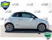 2017 Fiat 500 Lounge (Stk: 44716BU) in Innisfil - Image 5 of 23