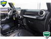 2016 Jeep Wrangler Unlimited Rubicon (Stk: 45176AU) in Innisfil - Image 17 of 19
