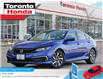 2019 Honda Civic Sedan EX ONE OWNER; SUNROOF; HEATED SEATS; NO ACCIDENT; (Stk: H41089T) in Toronto - Image 1 of 27