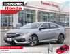 2018 Honda Civic Sedan EX|Roof|Alloy|One Owner|No Accident (Stk: H41141T) in Toronto - Image 1 of 27