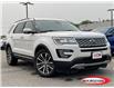 2017 Ford Explorer Platinum (Stk: 0333PT) in Midland - Image 1 of 17