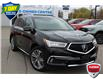 2017 Acura MDX Elite Package Black