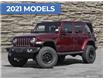 2021 Jeep Wrangler Unlimited Sahara (Stk: J4361) in Brantford - Image 1 of 27