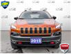 2015 Jeep Cherokee Trailhawk (Stk: S0065A) in St. Thomas - Image 2 of 30