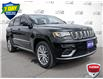 2018 Jeep Grand Cherokee Summit (Stk: 1189A) in St. Thomas - Image 1 of 30