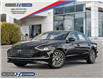 2021 Hyundai Sonata Hybrid Ultimate (Stk: 021653) in Milton - Image 1 of 11