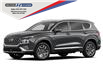 2021 Hyundai Santa Fe HEV Preferred w/Trend Package (Stk: 009754) in Milton - Image 1 of 2