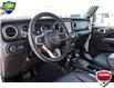 2021 Jeep Wrangler Unlimited Sahara (Stk: 44817AU) in Innisfil - Image 10 of 23